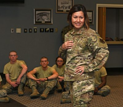 Chief Master Sgt. JoAnne Bass