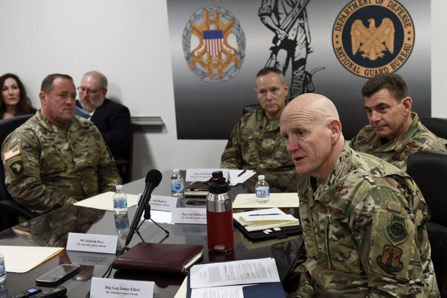 National Guard Bureau hosts roundtable discussion on National Guard's role in the Space Force