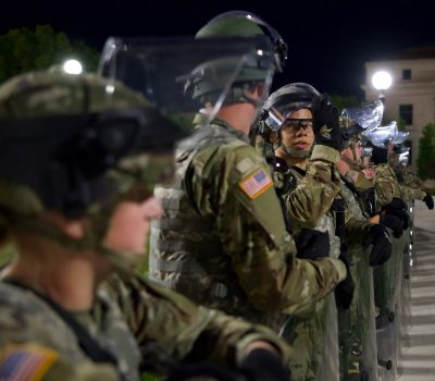 Minnesota National Guard protects Capitol