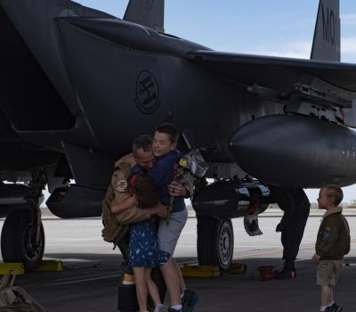 389th Fighter Squadron Redeployment