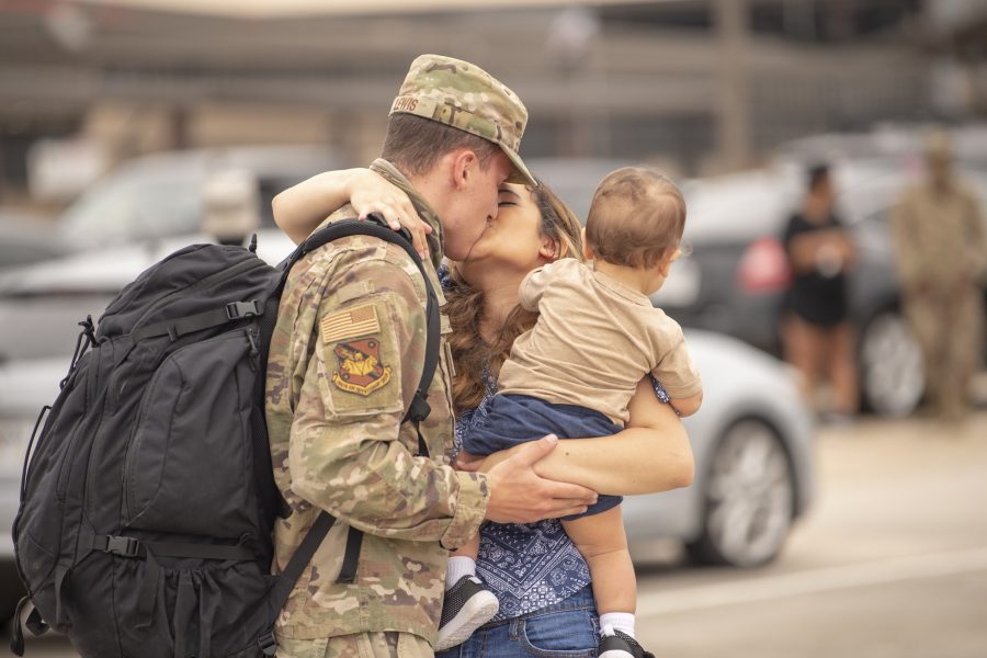 74th EFS returns from deployment