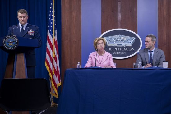 Top Defense Official Briefs Media on COVID-19 Acquisition Policy