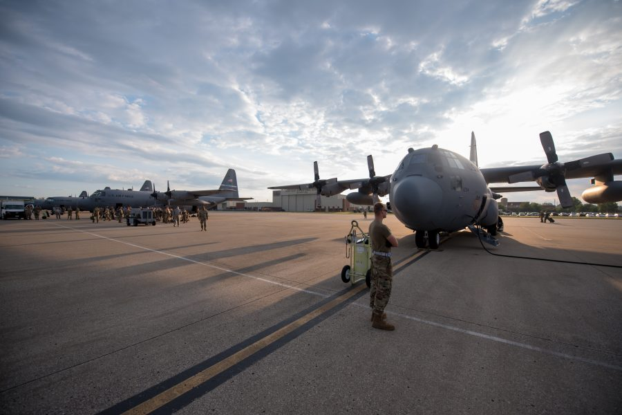 Kentucky Air Guardsmen deploy to Persian Gulf
