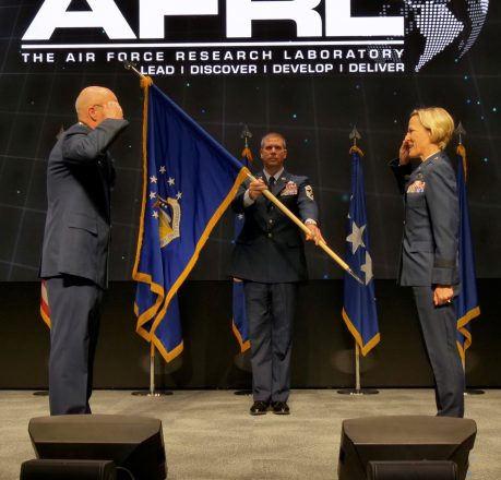 AFRL change of command