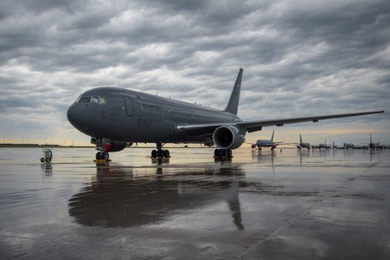 KC-46 at McConnell