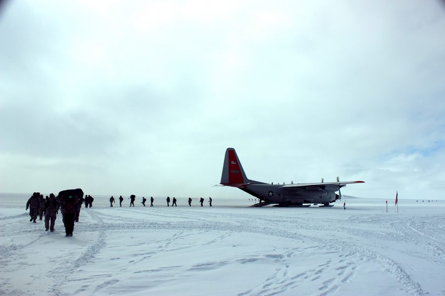 109th Airlift Wing Kool School in Greenland