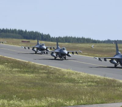 Spangdahlem AB F-16s participate in large force exercise
