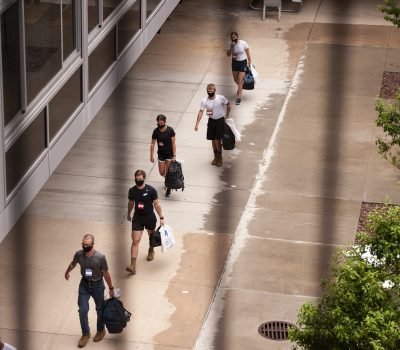 Appointees arrive at USAFA for I-Day