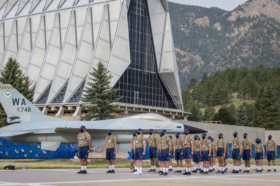 Academy basic cadets begin ROM