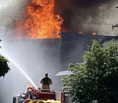 Northern Strike exercise shifts to real-world mutual aid response for Guard firefighters