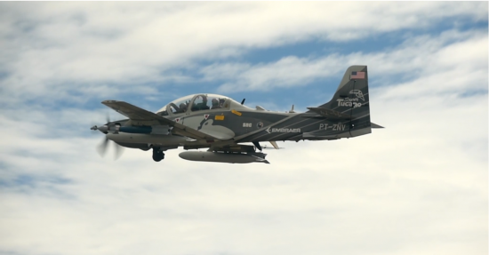 Armed Overwatch A-29