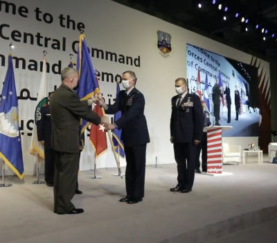 AFCENT Change of Command
