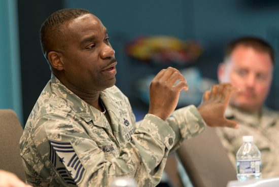 Chief Master Sgt. Maurice L. Williams