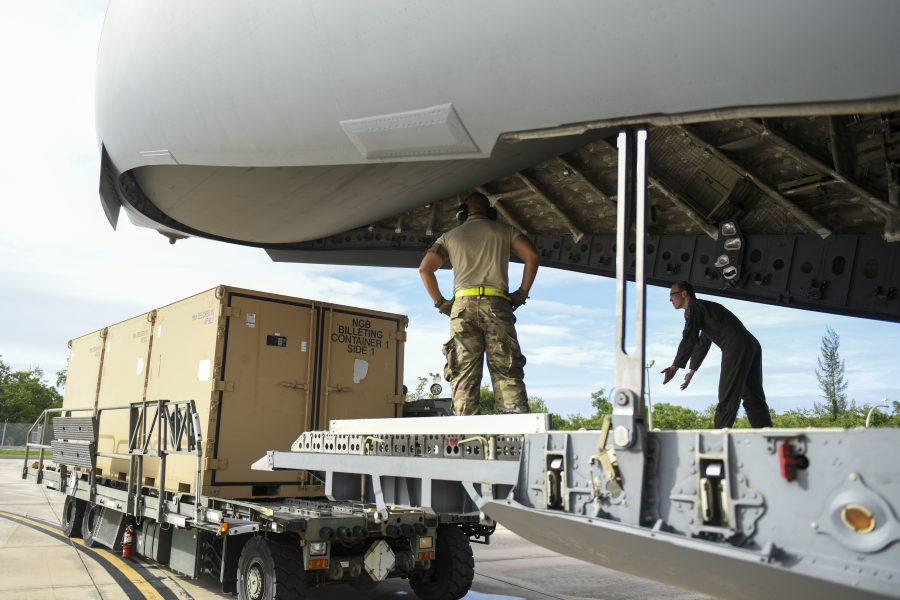 PRANG receives Disaster Relief Beddown System