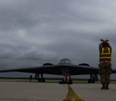 B-2 Spirit arrives at Naval Support Facility Diego Garcia