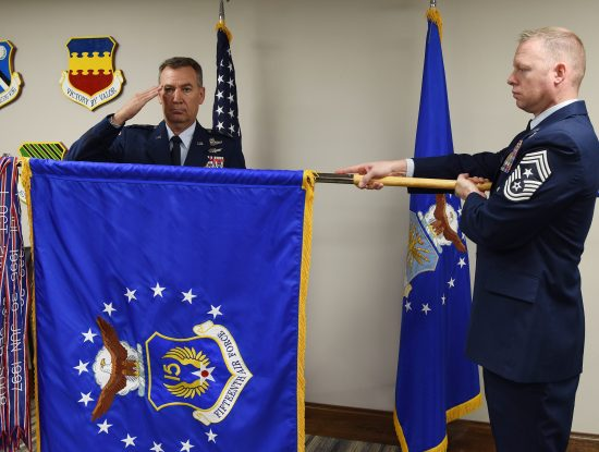 15th Air Force activation ceremony