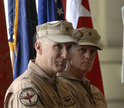 438th Air Expeditionary Wing change of command