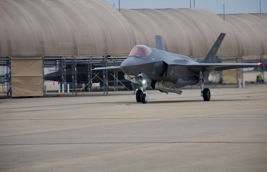 F-35s arrive at Eglin for ABMS Demo