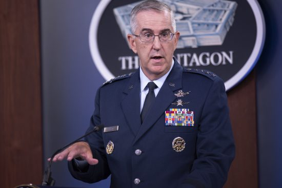 Top Pentagon officials brief European Strategic Force Posture Review
