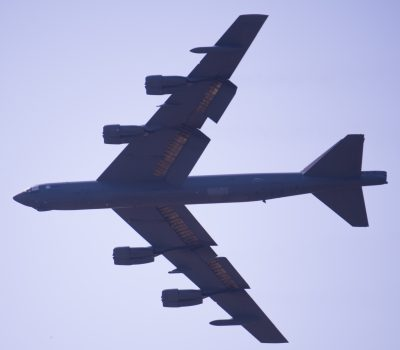 Barksdale's Air Force Base 2nd Bomb Wing bombers arrive at Minot Air Force Base