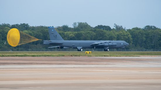 B-52s return home following Hurricane Laura