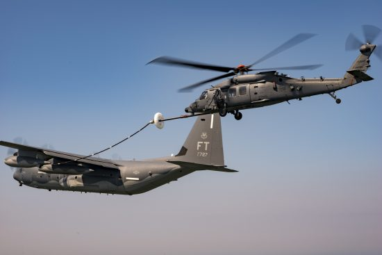 HH-60W First Aerial Refueling