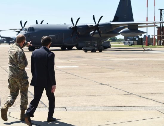 SECDEF at Mildenhall
