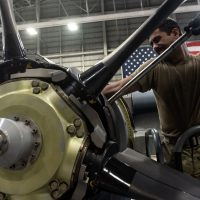 353rd SOAMXS Airmen swap MC-130J engine, maintain readiness
