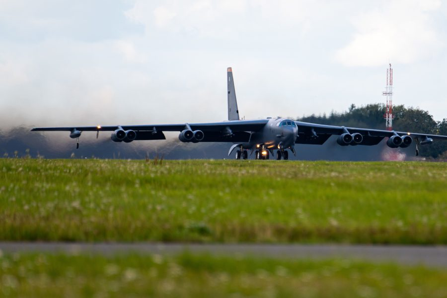 B-52s at Fairford