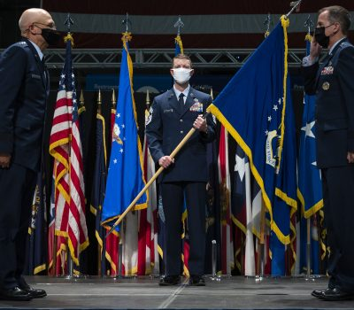 Air Force Life Cycle Management Center Change of Command ceremony