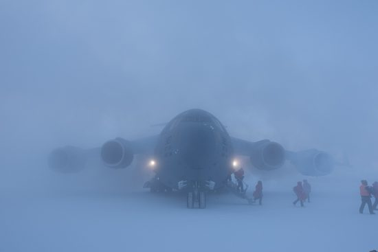 C-17 at McMurdo