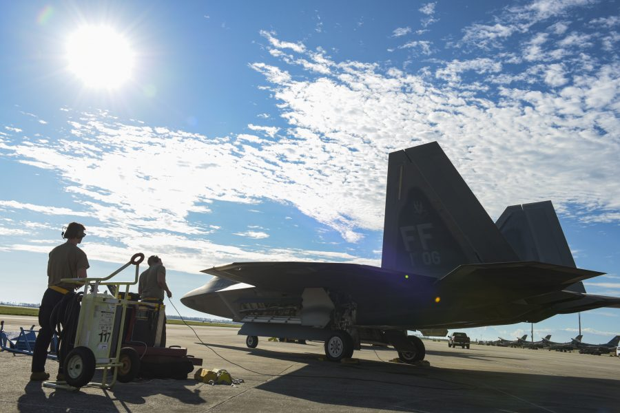 Tyndall holds Weapons System Evaluation Program