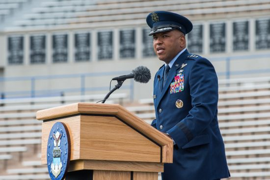 USAFA Change of Command