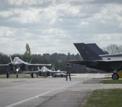 F-35 deploys to Europe for the first time