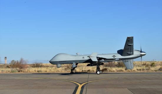 MQ-9 Reaper at Holloman