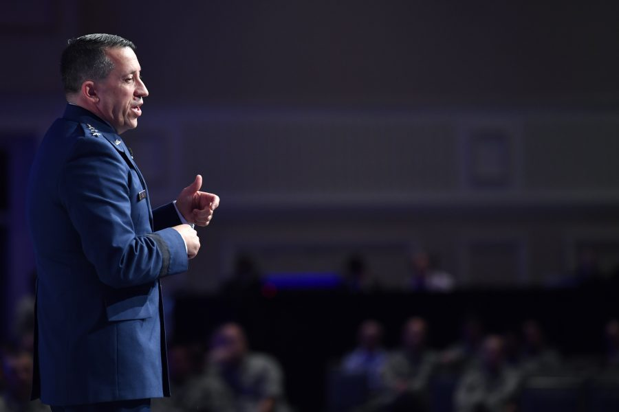 Lt. Gen. Brian Kelly Gives Air Force Personnel Update