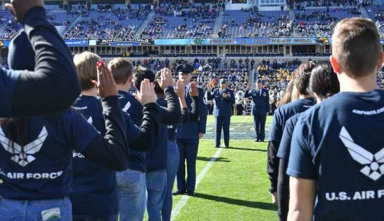 Armed Forces Bowl showcases U.S. Air Force