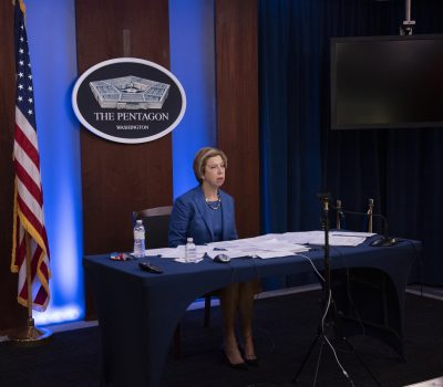 USD for Acquisition and Sustainment Ellen M. participates in the online Defense News Conference
