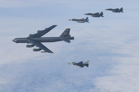 Bombers, Marine F-35s join Point Blank 20-4 exercise