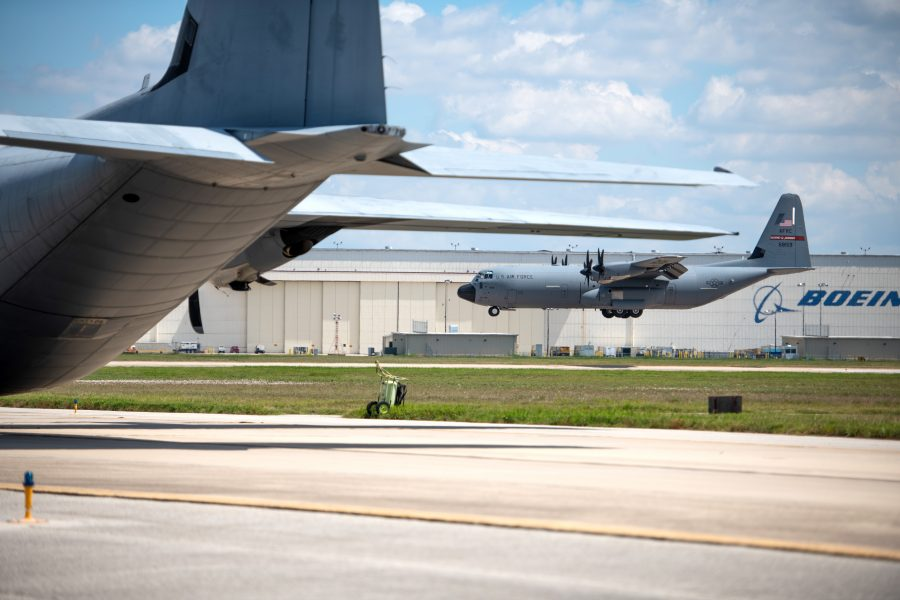 Here we go again: 403rd Wing evacuates aircraft, continues to fly Tropical Storm Sally