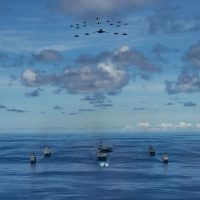 Ronald Reagan Carrier Strike Group Concludes Valiant Shield 2020