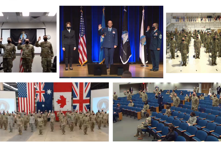 Swearing-in Ceremony Collage