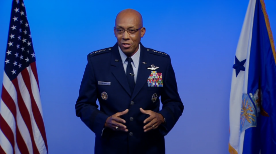 CSAF Gen. Charles Q. Brown Jr. at vASC
