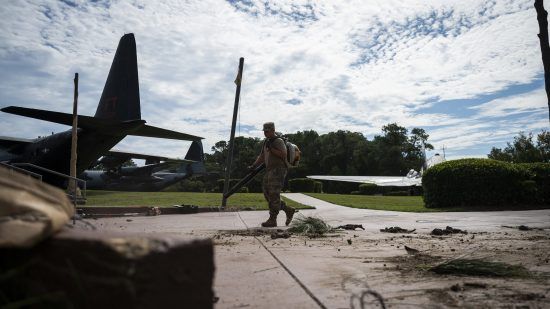1st SOCES gives Hurlburt clean look after Hurricane Sally