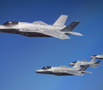 U.S. and Israeli F-35s participate in exercise Enduring Lightning III