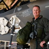 First Air Force pilot hits 1,000 flight hours in F-35