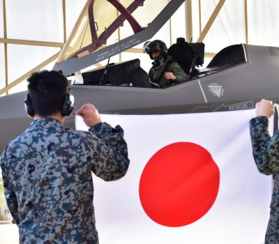 JASDF flies first solo mission