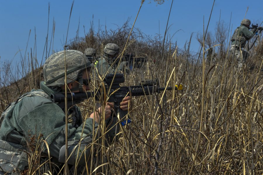 8th Security Forces train to defend the base