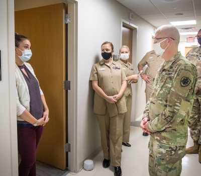 Lt. Gen. Ronald Place visits MCAS Cherry Point