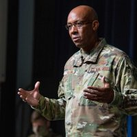 CSAF Gen Brown lays out his vision for AU